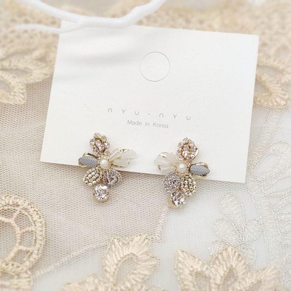 韓國手工耳環